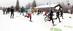 Moose Tracks 10k race start
